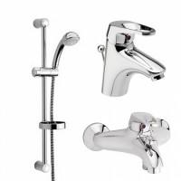 409050000 COSMO набор смесителей для ванной комнаты 101090000/108290038/765070000