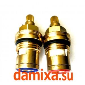Комплект: кран-букса горячей и холодной воды Damixa арт. SPD16100101
