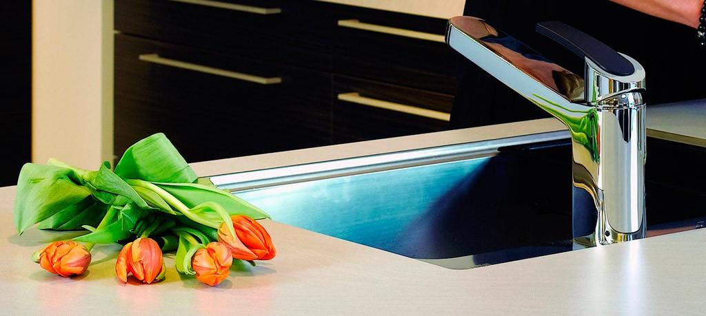 <span>Кухонные смесители Damixa серии Slate</span> Оптимальное сочетание дизайна, надежности и невысокой цены.
